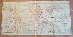 Driving Map Of England And Wales.Details About Wwii Era Us Engineers Special Road Map Of England Wales Sheet 8