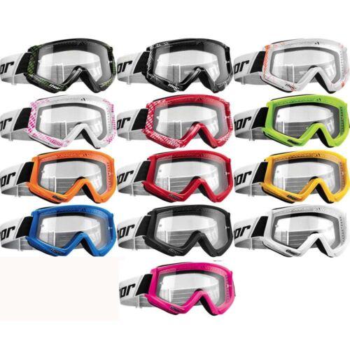 2019 Thor MX Combat Anti-Fog Motocross Dirt Bike ATV Goggles - Pick Color