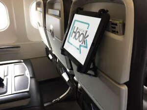 TabletHookz - Ipad, phone and Tablet Holder and stand for travel and home needs.