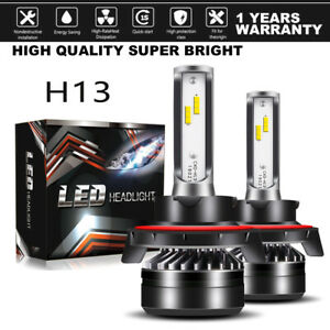 H13-LED-Headlight-Bulb-For-Dodge-Ram-1500-2500-3500-2006-2012-Hi-Low-Beam-Kit-LX