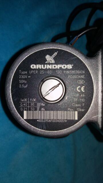Buderus GB112 Sieger Grundfos Umwälzpumpe UPER 25-60 130.mm