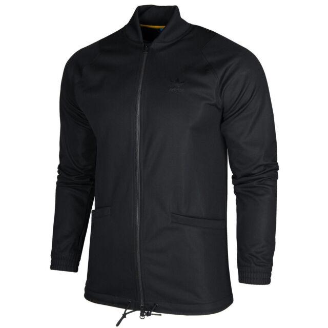 Adidas Originals SST Superstar Men's Track Jacket Sweatshirt Track Top Black