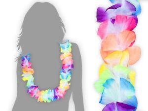 48-unid-braguitas-hawai-cadenas-carnaval-fiesta-DEKO-hula-cadena-Hawaiian-flores-cadena-multicolor