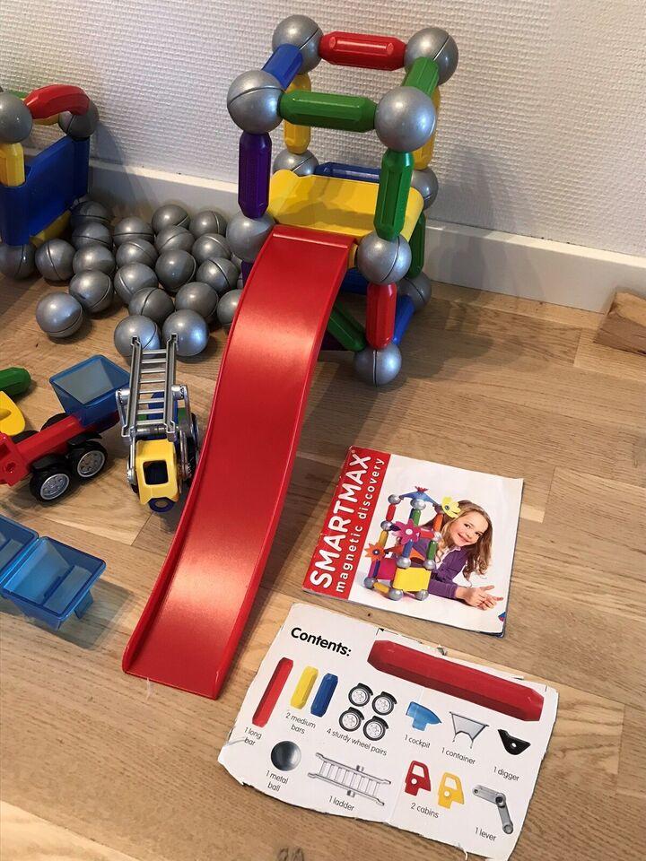 Magnetisk legetøj, Smartmax magneter