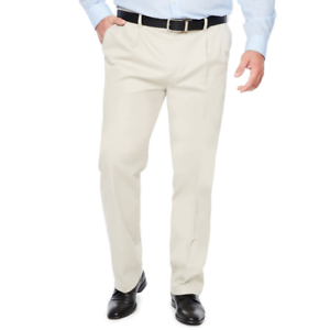 Savane Big /& Tall Ultimate Performance Alabaster Chino Pants MSRP $80