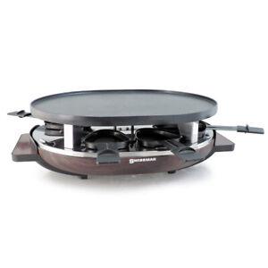 Swissmar MATTERHORN Wood Base Raclette for 8 People KF77068