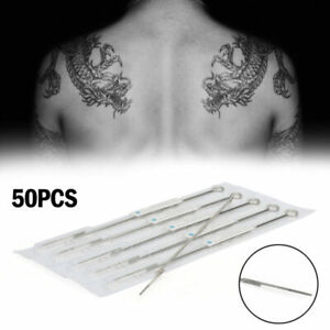 7Rl Aghi Tatuaggio Disposable Sterile Size 7 Round Liner Box Of 50