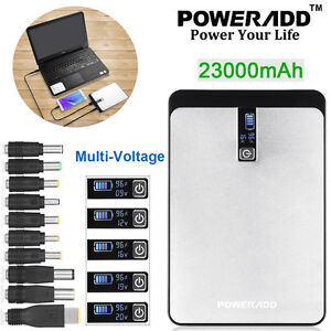 Poweradd-External-23000mAh-Power-Bank-USB-Battery-Charger-For-Phone-PC-Laptop-US