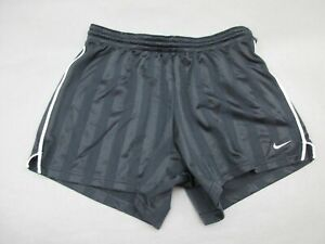 NIKE-SIZE-M-8-10-WOMENS-BLACK-ATHLETIC-SPORTSWEAR-RUNNING-TRACK-SHORTS-426