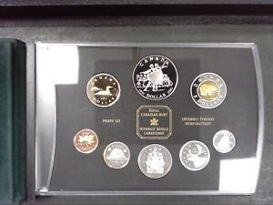 2001-CANADA-PROOF-SET-NATIONAL-BALLET-OF-CANADA-COMES-WITH-BOX-COA