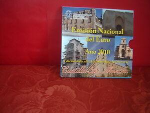 (ESP 126) COFFRET ESPAGNE 2010  9 PIÈCES (CASTILLA) BRILLANT UNIVERSEL