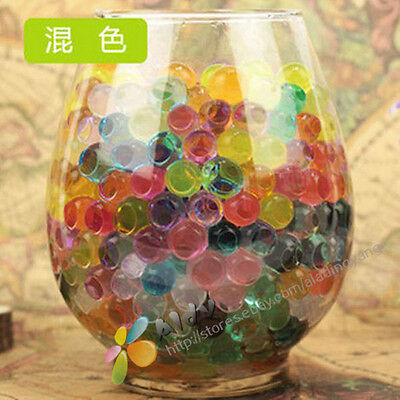 6000pcs Water Plant Flower Jelly Crystal Soil Mud Water Pearls Gel Beads Balls