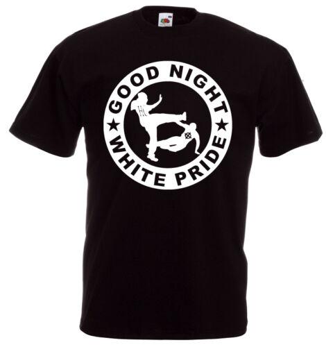 Noir Good Night white pride t-shirt