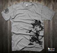 Dragon ball z Kid Goku t shirt Super Saiyan Goku Vegeta Piccolo dbz shirt