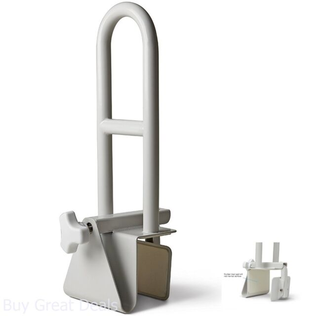 Bathtub Bar Locks To Side Of Tub Bath Handle Grab Mount Support Assist