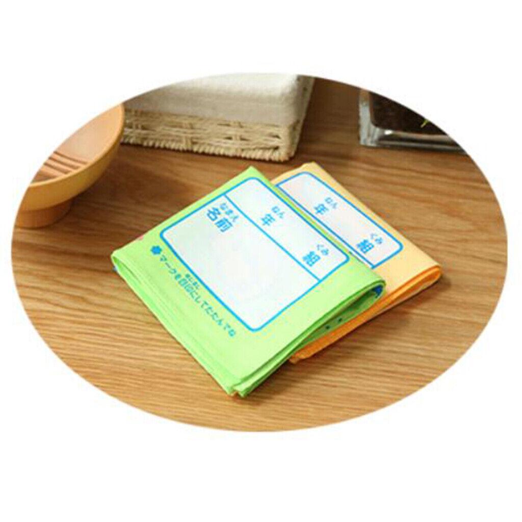 1 Paar wasserdichte Taschentücher für Kinder Baumwolle Cartoon Taschentücher