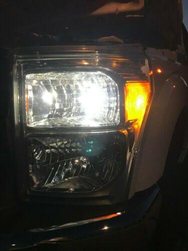 Switchback Signal Light Bulbs For 05-16 F-250 F-350 Bright White LED Headlight