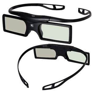 how to connect 3d active glasses to tv panasonic