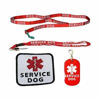 Service Dog Leash With Complimentary Kit - 3 Service Dog Bonuses Including: S...