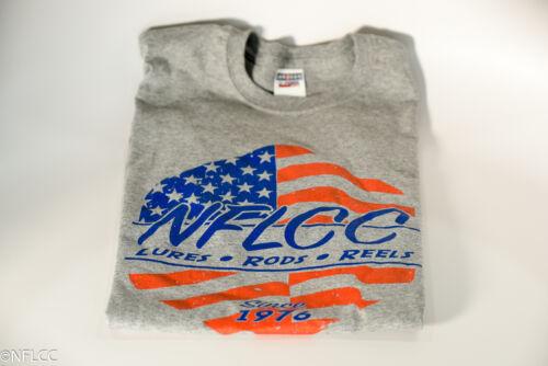 Heathered Grey NFLCC Flag Shirt