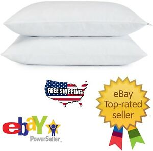 Serta-Gel-Memory-Foam-Cluster-Classic-Standard-Bed-Pillows-2-pack-Free-Shipping