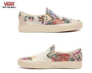 VANS-Festival-Satin-Classic-Slip-On-Street-Style-Fashion-Sneakers-Shoes-Women-039-s