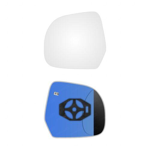 Lado Izquierdo Clip En Espejo climatizada Vidrio Para Dacia Duster de 2009-2014 0488 lshp