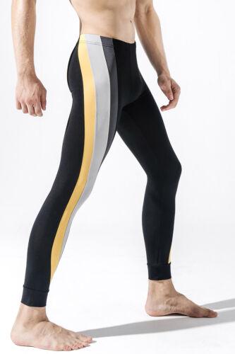 Fashion Men/'s Sports Thermal Long Tight Pants Running Gym Fitness Leggings Pants