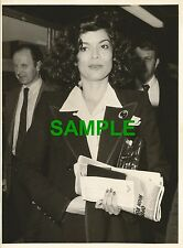 PHOTO BIANCA JAGGER ROLLING STONES MICK JAGGER UNKNOWN MISSION VIENNA BOUND 1979