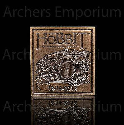 An Unexpected Journey Collectors Pin Badge. Hobbit, LotR. Weta Collectables. New
