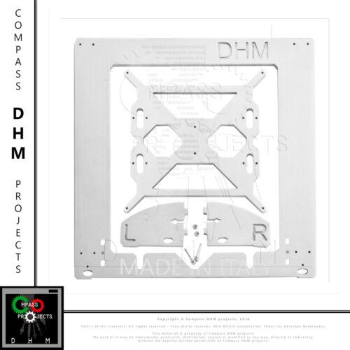 Telaio i3 Rework alluminio 6 mm Prusa Reprap stampante 3D aluminium frame