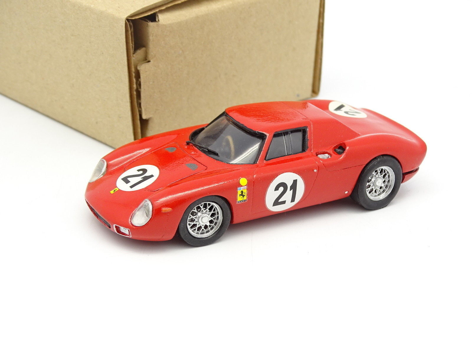Bam AMR Kit Assembled 1 43 - Ferrari 250 Lm le Mans 1965 Winner No. 21