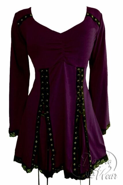 ELECTRA Corset Top MULBERRY Purple Dare to Wear Junior/Plus Size S - 5X