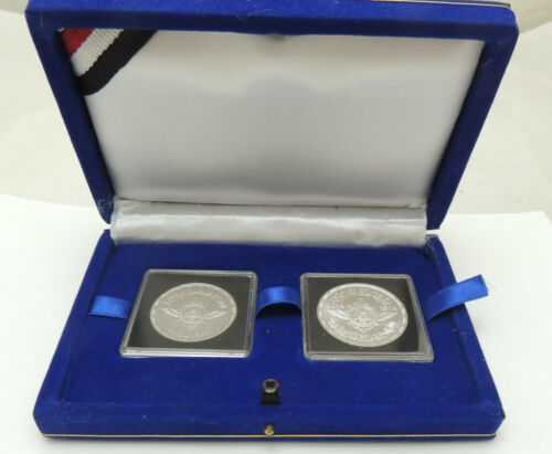 "2014 Egypt Egipto Ägypten silver coins /""Egyptian  Scouting Movement/""/""set of two/"""