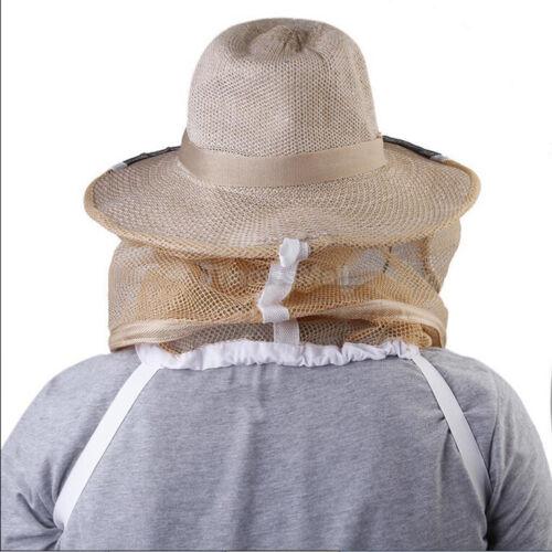 Imkerei Imker Cowboyhut Moskito Bee Insektennetz Gesicht Kopfschutz  4H ZV
