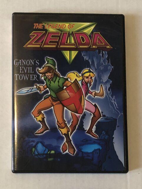 Legend Of Zelda Ganons Evil Tower The Legend Of Zelda Havoc In Hyrule Dvd 2007 2 Disc Set