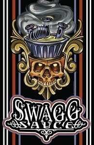 AZ-Swagg-Sauce-Unique-Authentic-Artwork-Posters-11x17-Tattoo-ART-NEW-USA