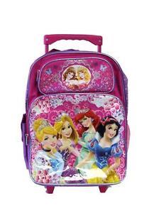 Disney Princess Rolling Backpack 16