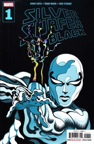 SILVER SURFER BLACK #1 BLOWOUT BOX SAVE 45/% OFF COVER PRICE $3.99 THANOS CATES