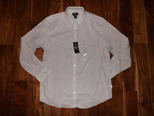 Men's Calvin Klein Long Sleeve Lifestyle 40o9319 Blue Gray H13 M White