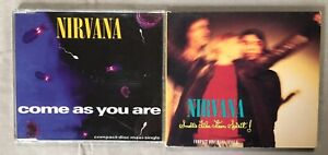 NIRVANA-2-CD-Maxi-Singles-Come-As-You-Are-Smells-Like-Teen-Spirit