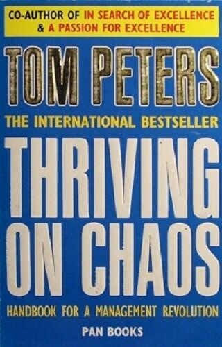 Thriving On Chaos by Peters Tom - Book - Paperback - Business and Finance