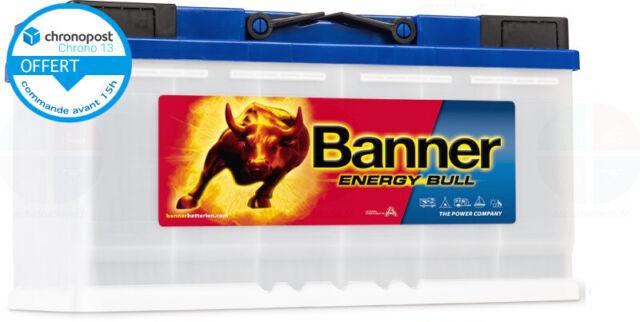 Batterie Décharge lente 12v 100ah C20 Banner Energy Bull 95751