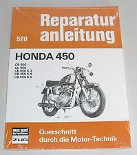 Reparaturanleitung Honda CB 450 / CL 450 / CB 450 K3 K4 K6