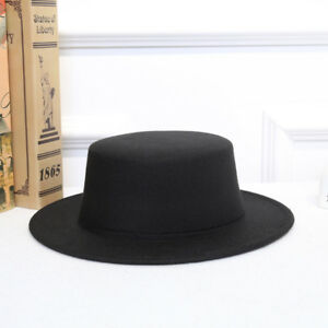faf89ebbb7c Women Vintage Classic Retro Jazz Lady Warm Fedoras Cotton Felt Caps ...