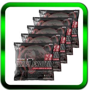 Whey-Protein-Proben-Pulver-Muskelaufbau-Aminosaeuren-5-x-30g-pro-Beutel-Probe