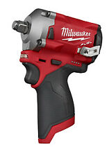 "Milwaukee 2555-20 M12 Fuel Stubby 1/2"" Impact Wrench (Tool Only)  New!!!"