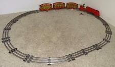 "DISNEY 1935 ""LIONEL MICKEY MOUSE CIRCUS TRAIN"" SET INCLUDING TRACK+WORKING"