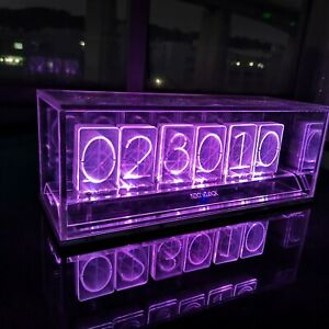 Details about Acrylic Led Nixie Clock - NIXT CLOCK COLORIC - Assembly Kit