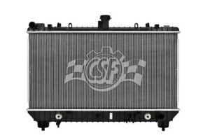 Radiator-1 Row Plastic Tank Aluminum Core CSF 3200 fits 05-15 Toyota Tacoma